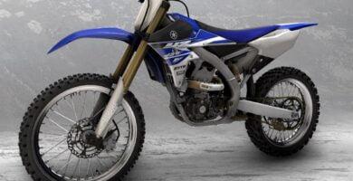 Manual Yamaha YZ450F 2015 de Usuario PDF GRATIS