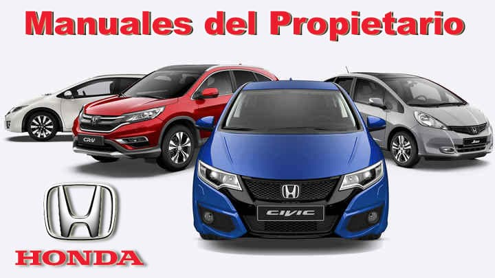 Manuales de Propietario para Autos Honda