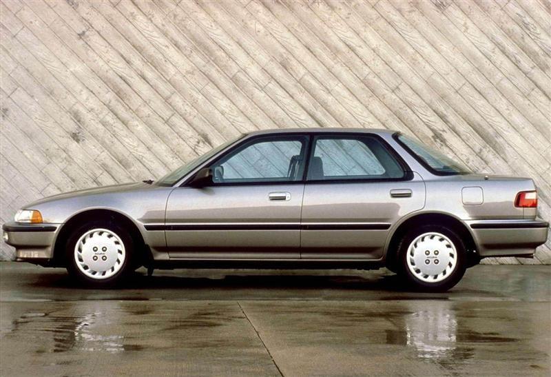 Manual Acura Integra Sedan 1990 de Propietario
