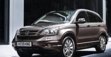 Manual Honda CR-V 2010 de Propietario