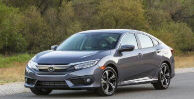 Manual Honda Civic Sedan 2016 de Propietario