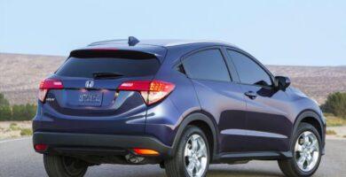 Manual Honda HRV 2016 de Propietario