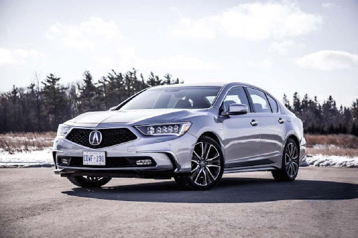 Manual Acura RLX Sport Hybrid 2018 de Propietario