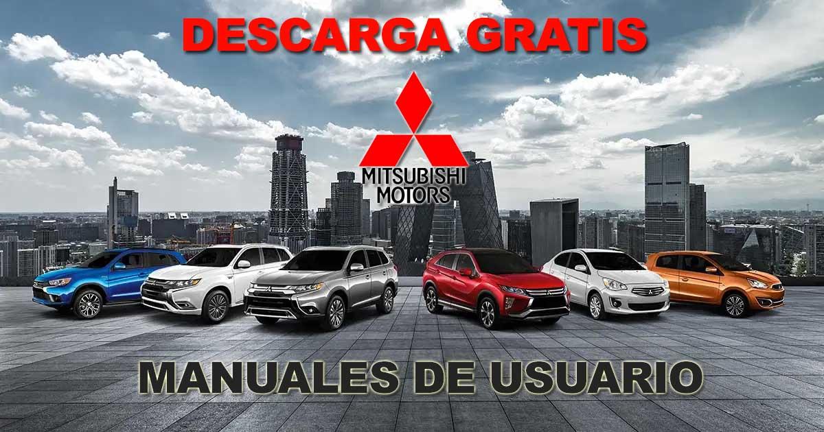 Descargar Manuales de Propietario Mitsubishi