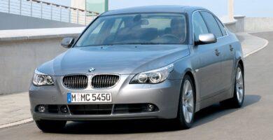 Manual BMW 545i 2004-2005 de Propietario