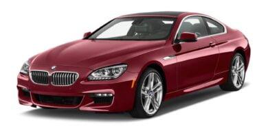 Manual BMW 640i Coupe 2012-2016 de Propietario