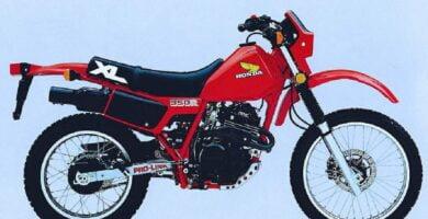 Manual Moto HONDA XLX 350 1991 de Propietario PDF GRATIS