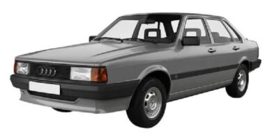 Manual AUDI 80 1984 de Reparación Descarga GRATIS