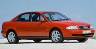 Manual AUDI A4 1996 de Reparación Descarga GRATIS