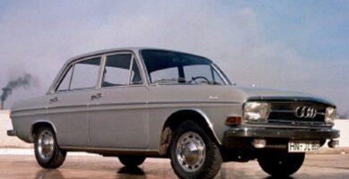 Manual AUDI Audi F103 1969 de Reparación Descarga GRATIS