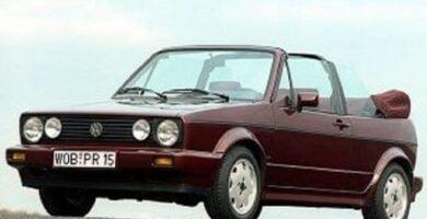Manual VOLKSWAGEN Golf Mk1 1990 de Taller y Mantenimiento GRATIS