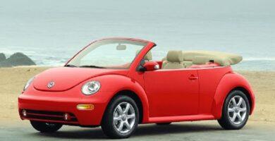 Manual VOLKSWAGEN New Beetle 2004 de Taller y Mantenimiento GRATIS