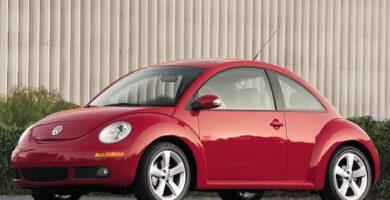 Manual VOLKSWAGEN New Beetle 2007 de Taller y Mantenimiento GRATIS